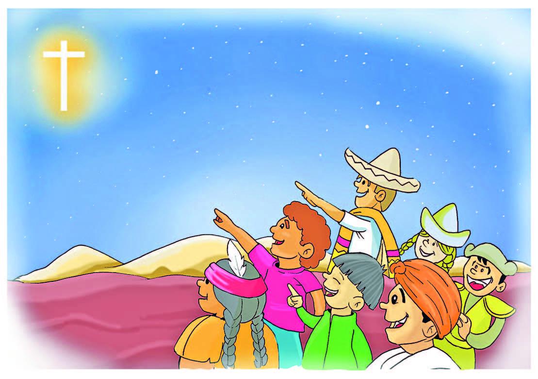 JESÚS VINO A SALVAR A TODOS LOS PUEBLOS DE LA TIERRA