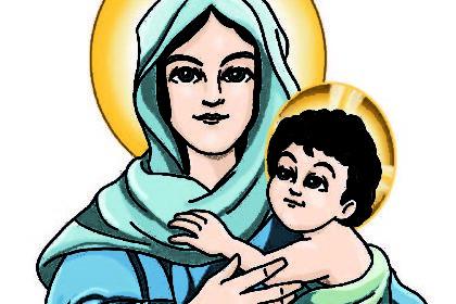 CELEBRAMOS QUE LA VIRGEN MARÍA ES LA MADRE DE DIOS
