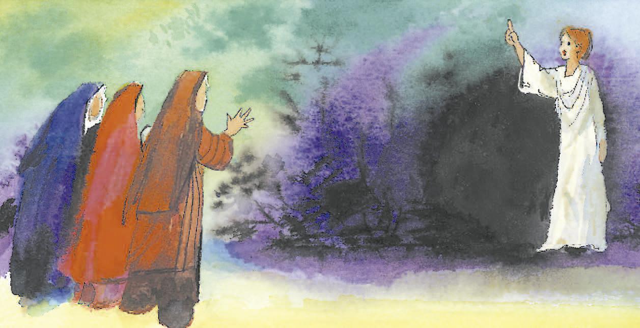 12 de abril | Domingo de Pascua de la Resurrección del Señor. (Vigilia Pascual en la noche santa). Salmo 32.