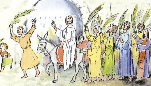 5 de abril   Domingo de Ramos de la Pasión del Señor. Salmo 21.