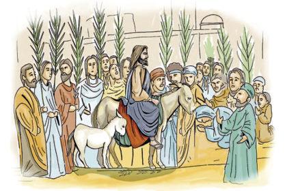 El Señor es recibido en Jerusalén