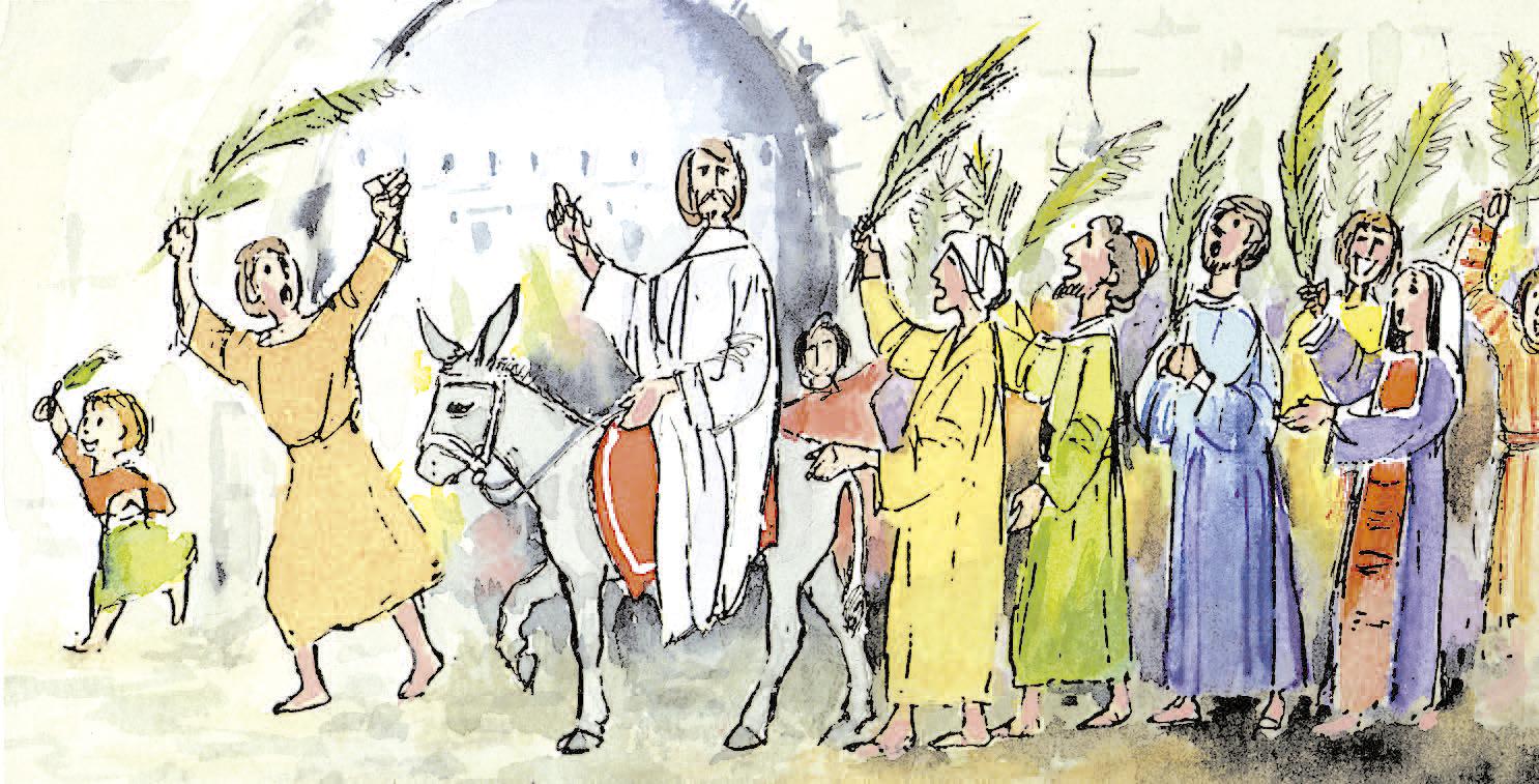 5 de abril | Domingo de Ramos de la Pasión del Señor. Salmo 21.