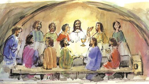 9 de abril   Jueves Santo de la Cena del Señor. Del Salmo 115.