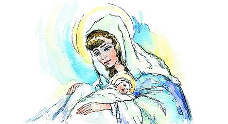 1 de enero   Santa María, Madre de Dios