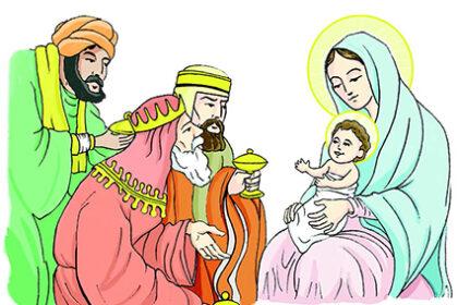 LOS MAGOS LE LLEVARON A JESÚS ORO, INCIENSO Y MIRRA