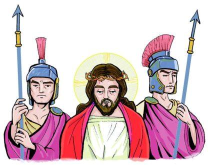 ¿ACOMPAÑAREMOS A JESÚS DURANTE ESTA SEMANA?
