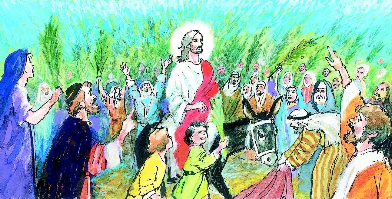 28 de marzo | Domingo de Ramos de la Pasión del Señor