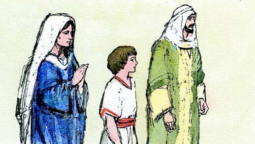 26 de diciembre   La Sagrada Familia de Jesús, María y José