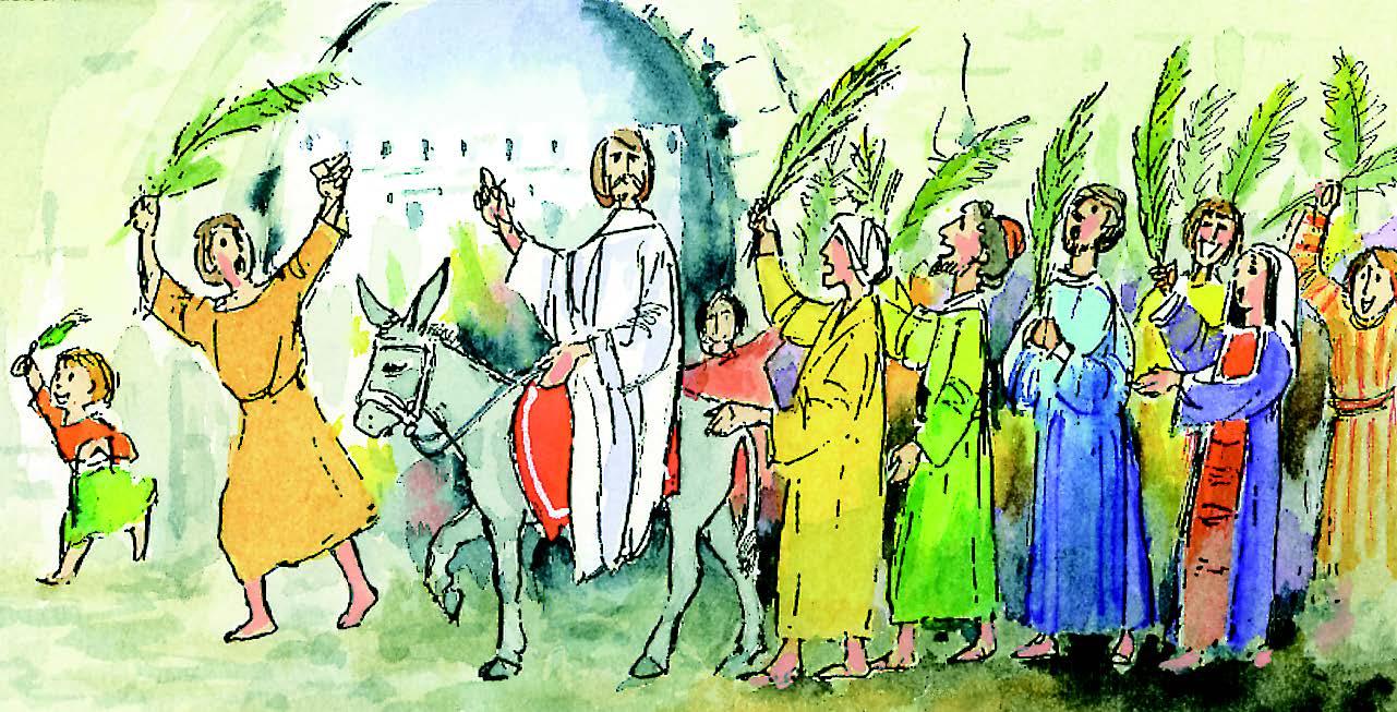 10 de abril | Domingo de Ramos de la Pasión del Señor